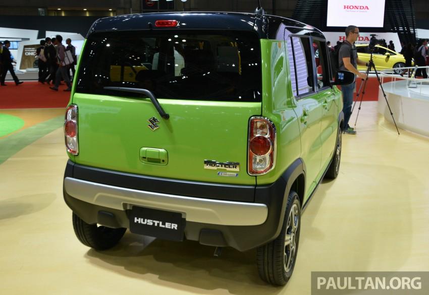Tokyo 2015: Suzuki Hustler J Style II – facelift debuts Image #400517