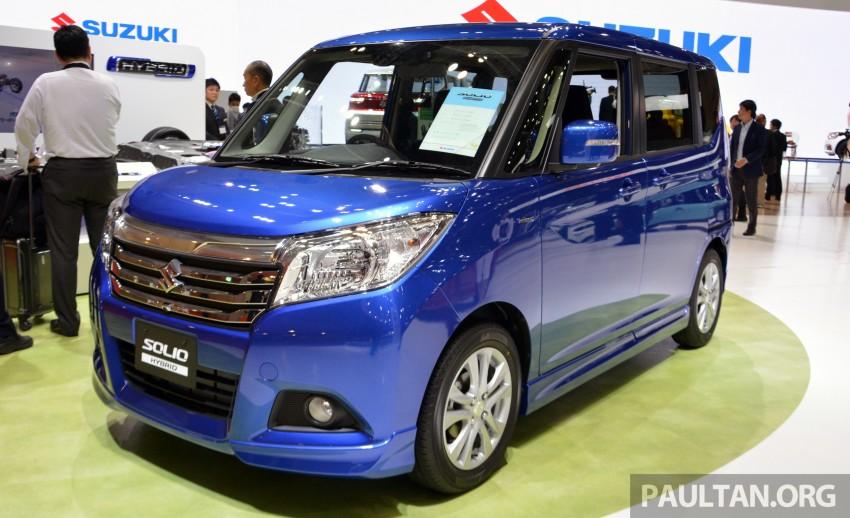 Tokyo 2015: Suzuki Solio – mini hybrid MPV for Japan Image #400458