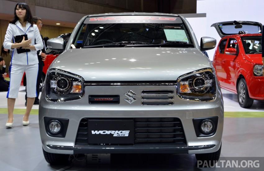 Tokyo 2015: Suzuki Works Alto – sporting it up Image #400488