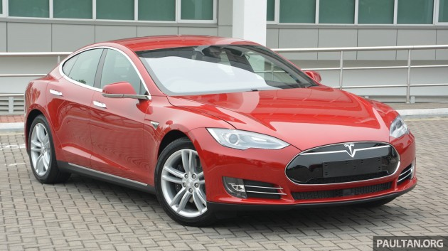Tesla 1 >> Gallery Tesla Model S In Malaysia First Impressions