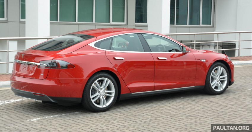 GALLERY: Tesla Model S 85 – first impressions Image #395539