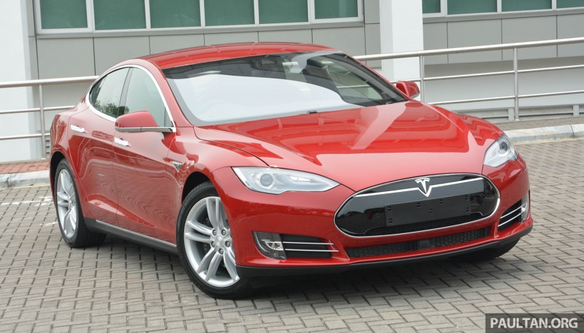 GALLERY: Tesla Model S 85 – first impressions Image #395527