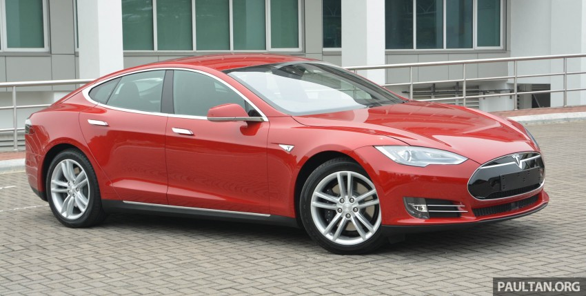 GALLERY: Tesla Model S 85 – first impressions Image #395528
