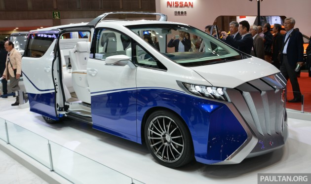 Tokyo 2015 Toyota Auto Body Alphard Hercule Debuts