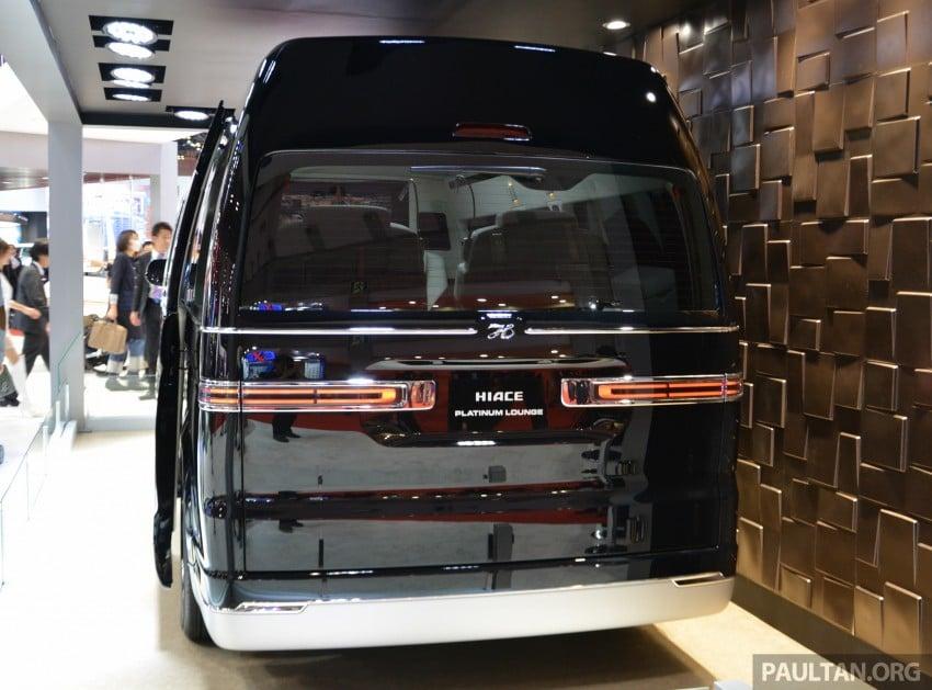 Tokyo 2015: Toyota HiAce Platinum Lounge revealed Image #399875
