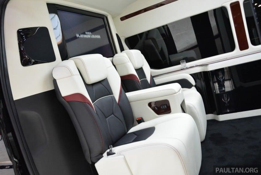 Tokyo 2015: Toyota HiAce Platinum Lounge revealed Image #399864