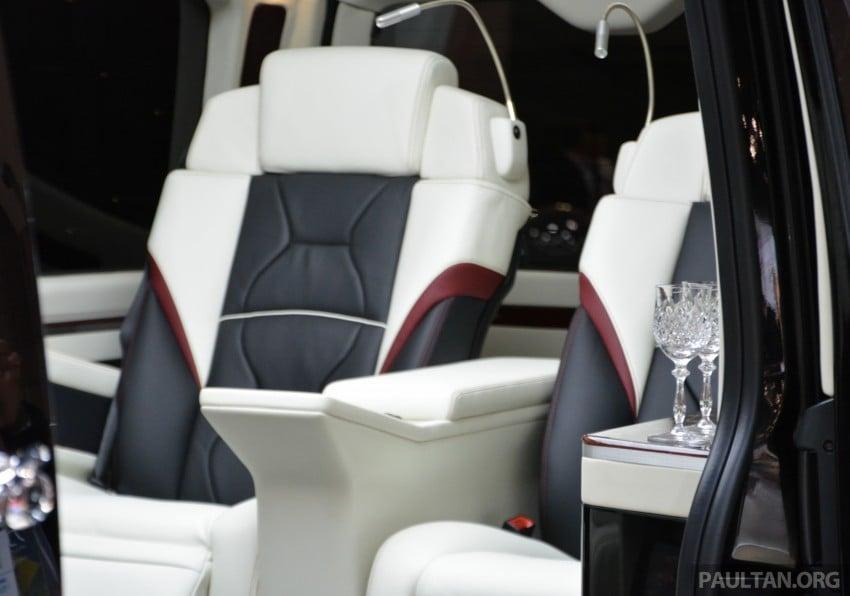 Tokyo 2015: Toyota HiAce Platinum Lounge revealed Image #399865