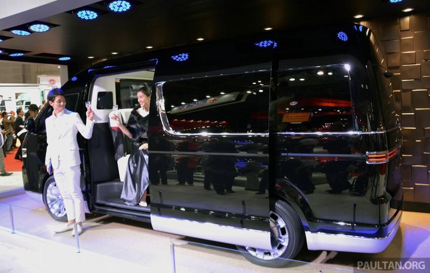 Tokyo 2015: Toyota HiAce Platinum Lounge revealed Image #399866