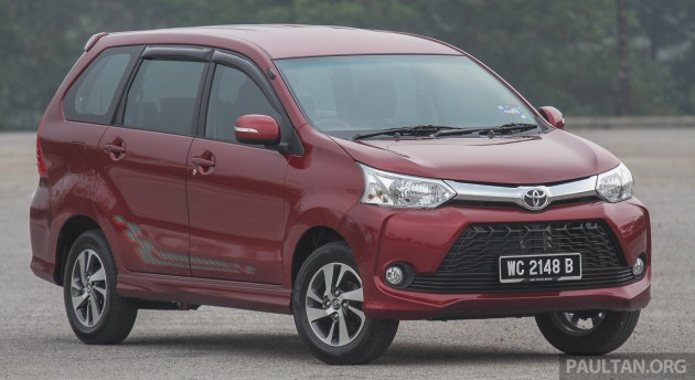 Gallery Toyota Avanza Facelift Now On Sale In M Sia