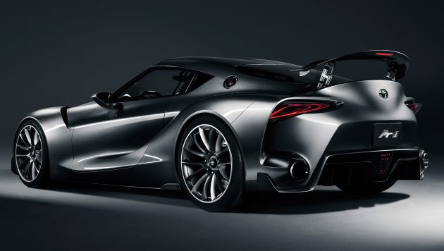 Toyota Ft 1 Engine >> New Toyota Supra coming in 2018, will be hybrid, AWD