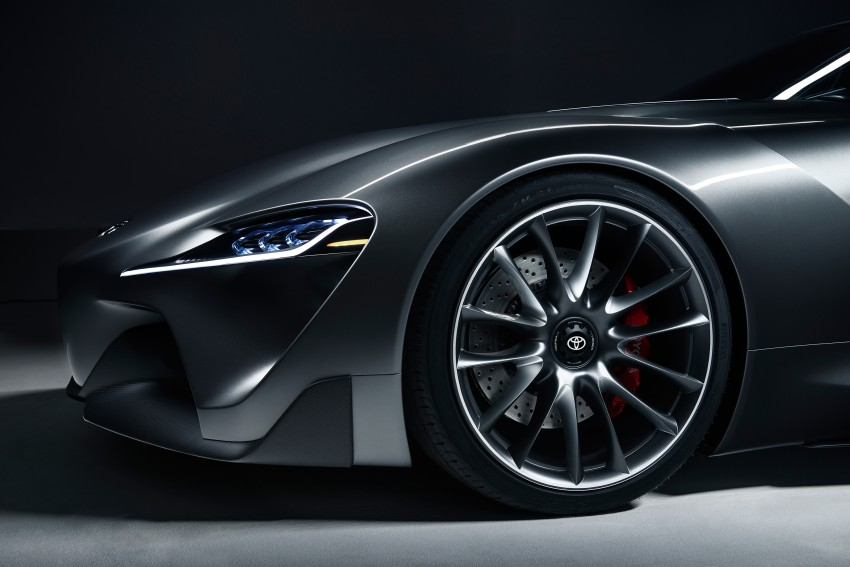 Toyota Supra successor concept to debut in 2016 Image #399924