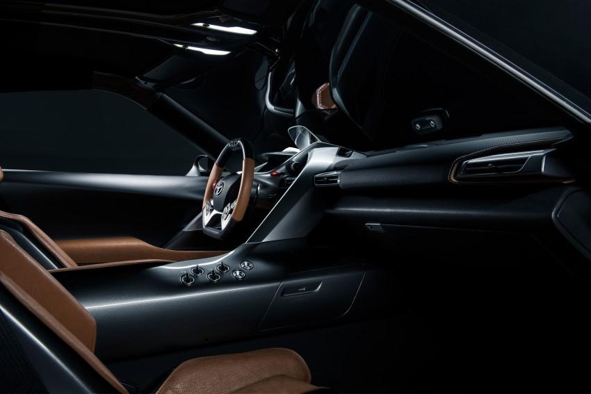 Toyota Supra successor concept to debut in 2016 Image #399931