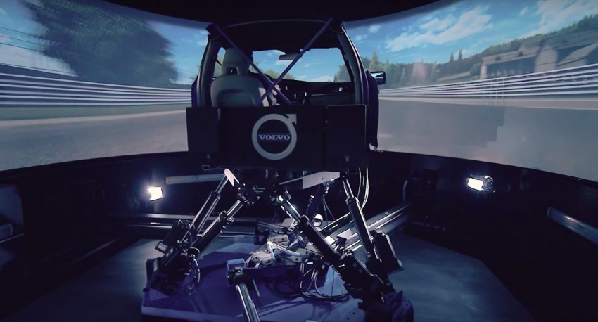 VIDEO: Volvo S90 handling developed using simulator Image #389056