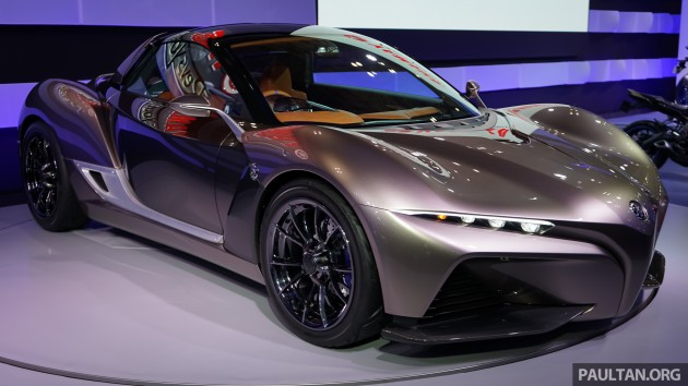 Tokyo Yamaha Sports Ride Concept Unveiled