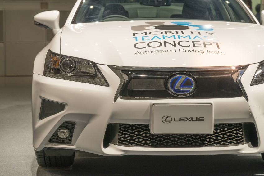VIDEO: We experience Toyota's Highway Teammate autonomous driving tech in a modified Lexus GS Image #400674