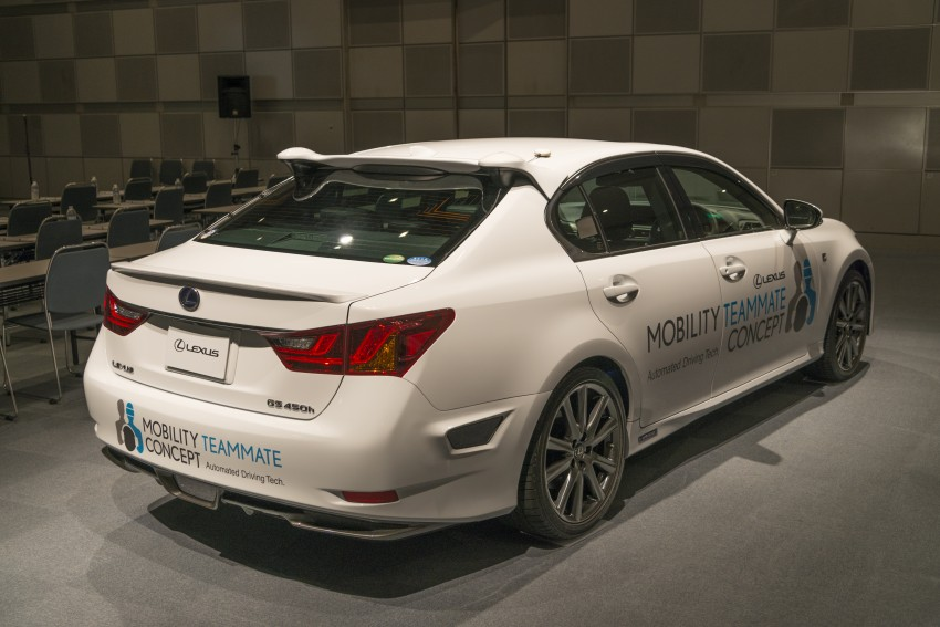 VIDEO: We experience Toyota's Highway Teammate autonomous driving tech in a modified Lexus GS Image #400678