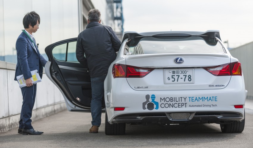VIDEO: We experience Toyota's Highway Teammate autonomous driving tech in a modified Lexus GS Image #400745