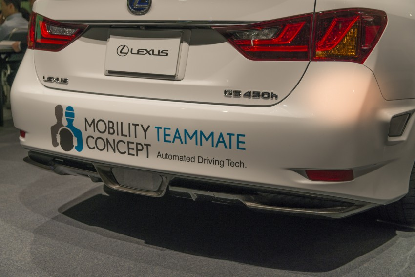 VIDEO: We experience Toyota's Highway Teammate autonomous driving tech in a modified Lexus GS Image #405344