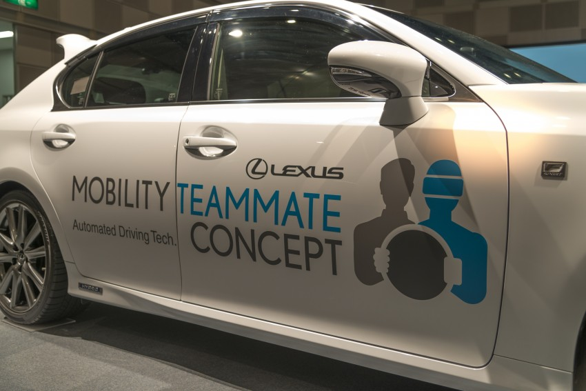VIDEO: We experience Toyota's Highway Teammate autonomous driving tech in a modified Lexus GS Image #405340