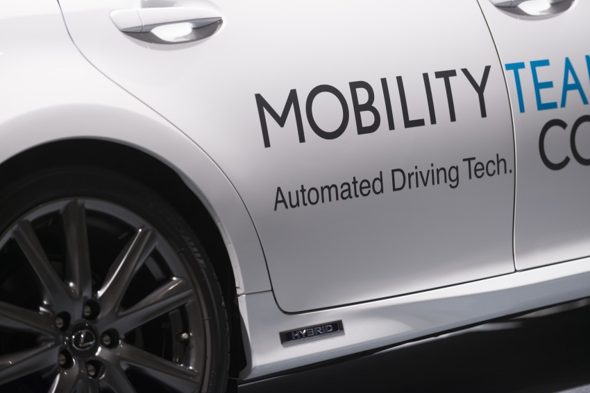 VIDEO: We experience Toyota's Highway Teammate autonomous driving tech in a modified Lexus GS Image #405332