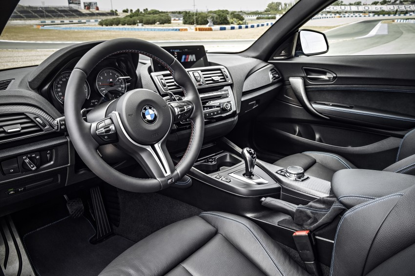 BMW M2 Coupe officially unveiled – 370 hp, 465 Nm Image #392205
