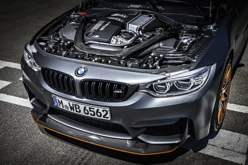 BMW M4 GTS revealed – 500 hp, 600 Nm, 700 units Image #388684