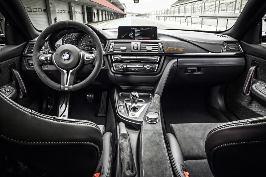BMW M4 GTS revealed – 500 hp, 600 Nm, 700 units Image #388685