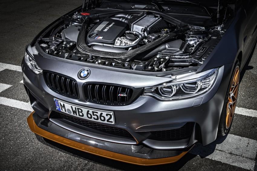 BMW M4 GTS revealed – 500 hp, 600 Nm, 700 units Image #388692
