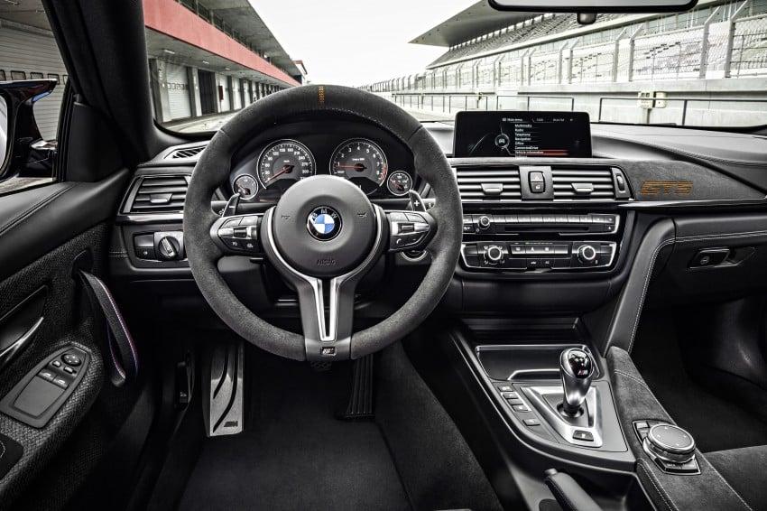 BMW M4 GTS revealed – 500 hp, 600 Nm, 700 units Image #388702