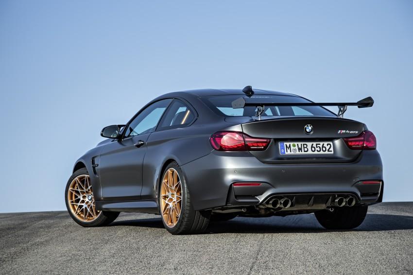BMW M4 GTS revealed – 500 hp, 600 Nm, 700 units Image #388731