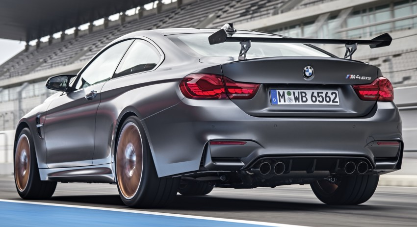 BMW M4 GTS revealed – 500 hp, 600 Nm, 700 units Image #388726