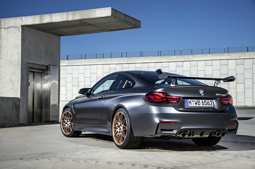 BMW M4 GTS revealed – 500 hp, 600 Nm, 700 units Image #388725