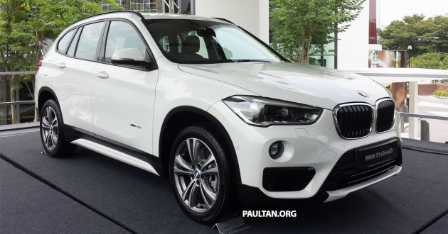 BMW Group Malaysia Officially Launched The New X1 In Downtown KL This Morning Second Generation F48 Is Available Here As An SDrive20i