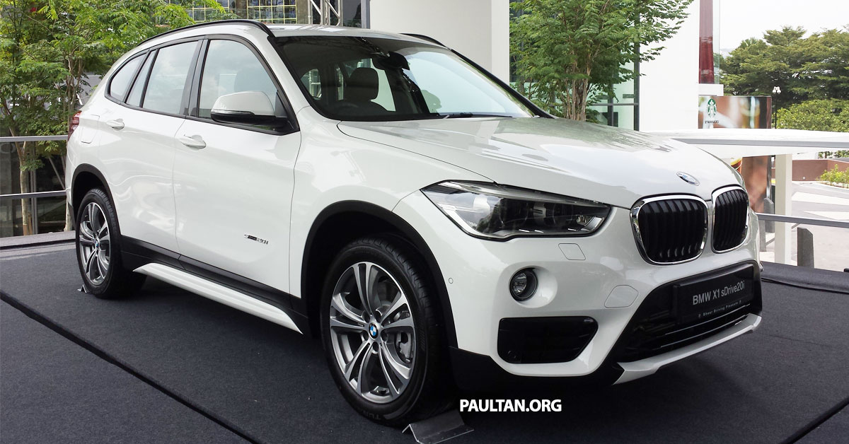 f48 bmw x1 sdrive20i launched in m sia rm280k image 390234. Black Bedroom Furniture Sets. Home Design Ideas