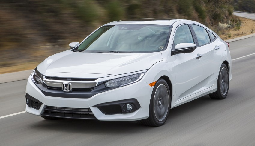 2016 Honda Civic – full technical details on the 10th gen sedan, which benchmarks the 3 Series, C-Class Image #394247