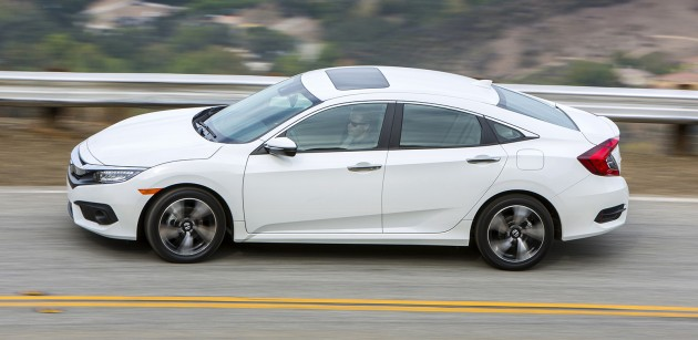 Honda says that the new Civic is one of the most comprehensive and ...