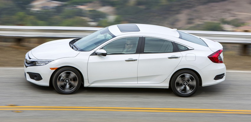 2016 Honda Civic – full technical details on the 10th gen sedan, which benchmarks the 3 Series, C-Class Image #394248