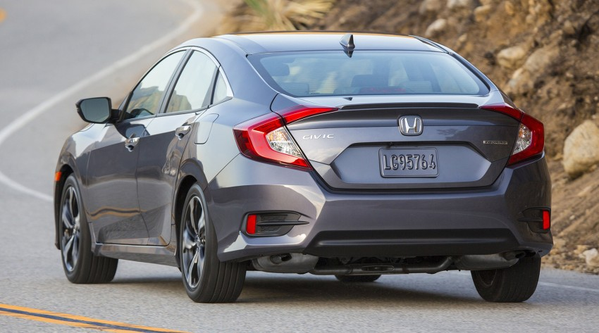 2016 Honda Civic – full technical details on the 10th gen sedan, which benchmarks the 3 Series, C-Class Image #394249