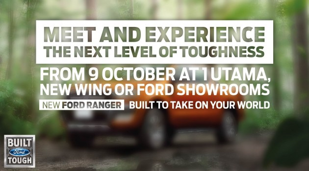 ford ranger experiential test drive