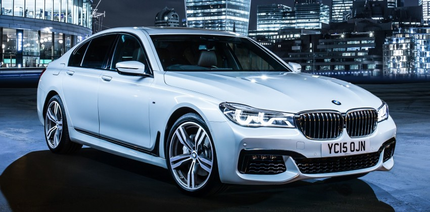 GALLERY: G11 BMW 7 Series in right hand drive form Image #391488