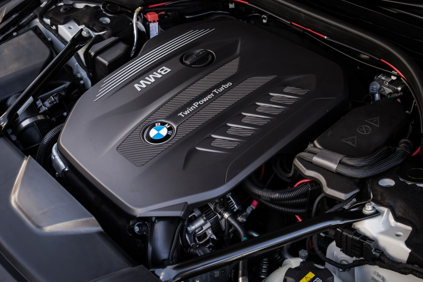 GALLERY: G11 BMW 7 Series in right hand drive form Image #391490