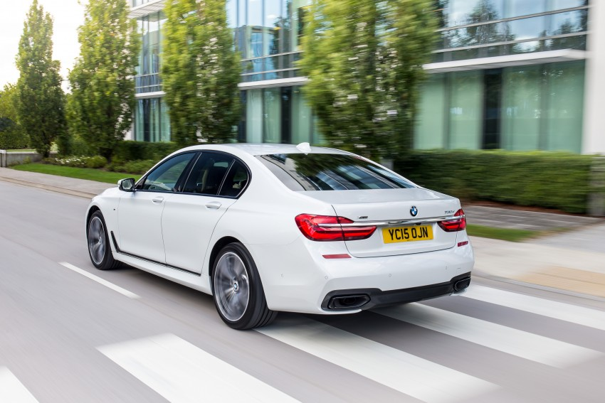 GALLERY: G11 BMW 7 Series in right hand drive form Image #391498