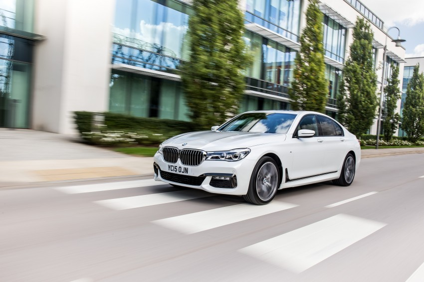 GALLERY: G11 BMW 7 Series in right hand drive form Image #391499