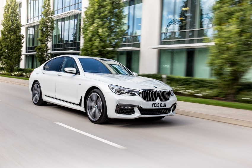 GALLERY: G11 BMW 7 Series in right hand drive form Image #391501