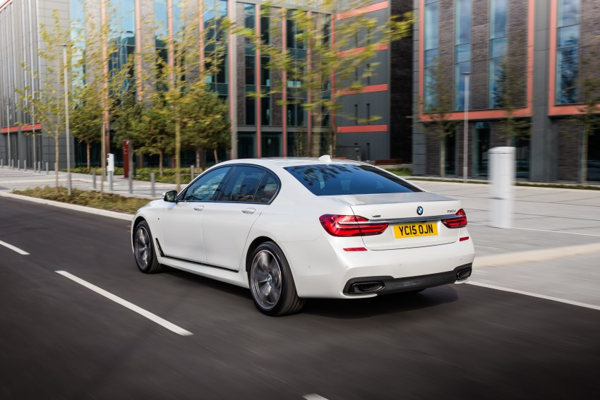 GALLERY: G11 BMW 7 Series in right hand drive form Image #391510