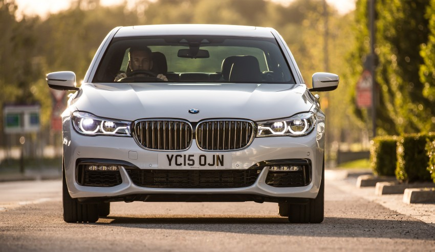 GALLERY: G11 BMW 7 Series in right hand drive form Image #391519