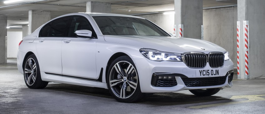 GALLERY: G11 BMW 7 Series in right hand drive form Image #391529