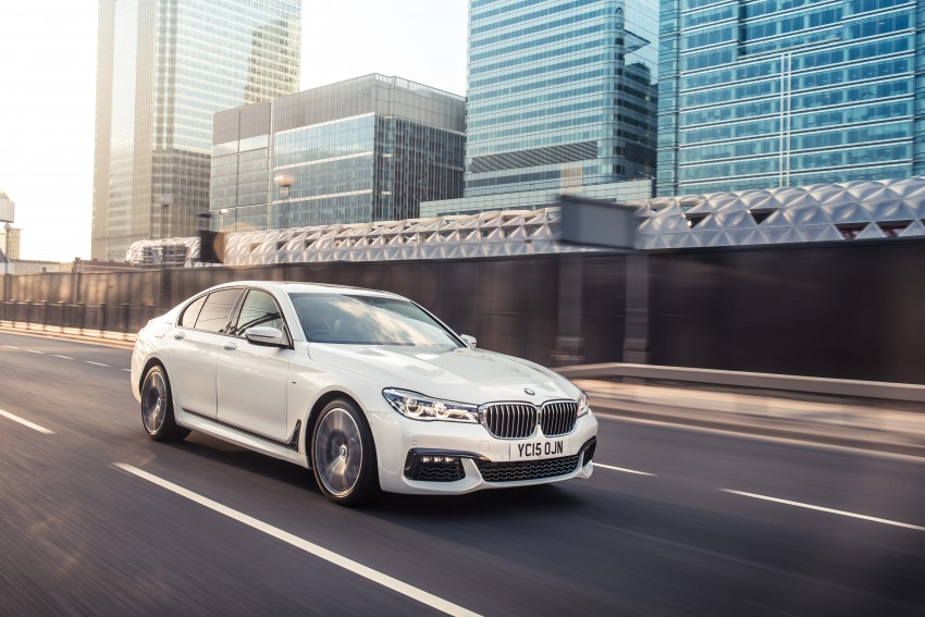 GALLERY: G11 BMW 7 Series in right hand drive form Image #391552