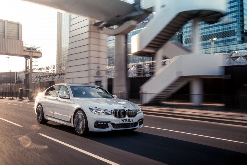 GALLERY: G11 BMW 7 Series in right hand drive form Image #391554