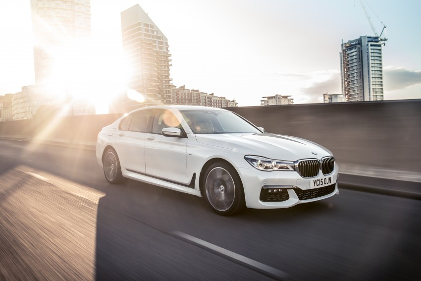 GALLERY: G11 BMW 7 Series in right hand drive form Image #391556